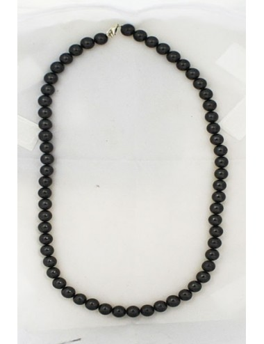 Collier shungite 8mm
