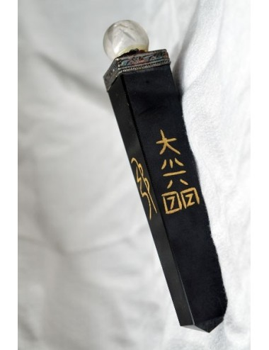 Baton de soin reiki avec spere cristal