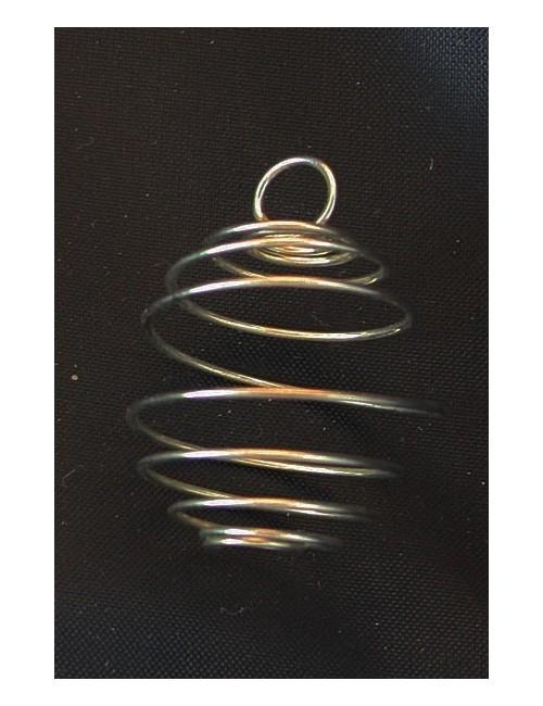 Cage à pierre spirale ronde
