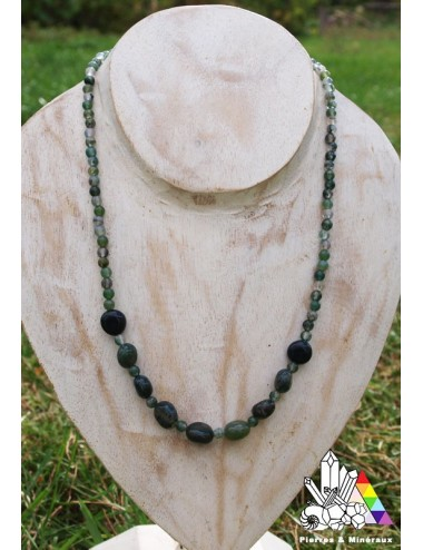 agate mousse collier