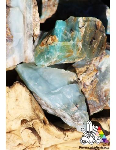 opale bleu