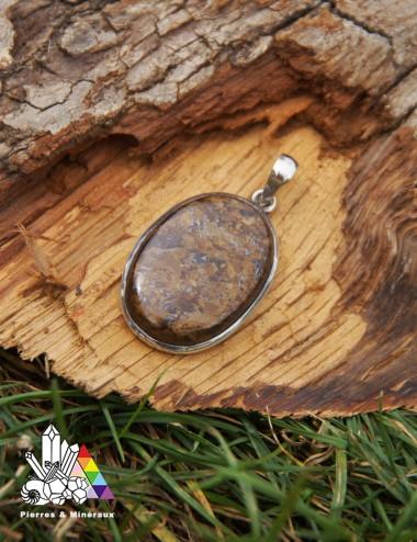 Pendentif bronzite 1