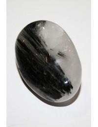 Quartz  tourmaline noir